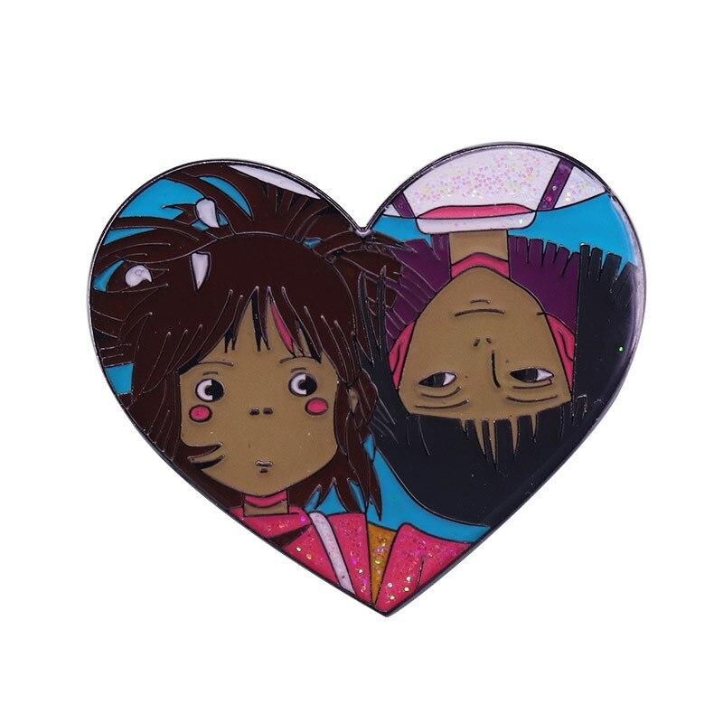 P5953 фигурки аниме Dongmanli эмалевые значки брошь на рюкзак сумка воротник лацкан Украшение Ювелирные изделия Подарки для детей