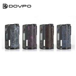 Оригинальный DOVPO Topside Dual Carbon Squonk Mod с чипом YIHI Питание от двух аккумуляторов 18650 максимум 200 Вт Выход DOVPO Topside vs Drag 2