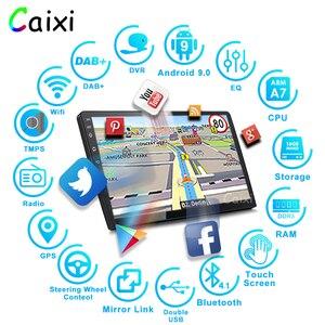Image 2 - 9/10 pollici Android 9.0 2 Din auto radio Multimedia Playe Universale auto Stereo di Gps di Navigazione Bluetooth Lettore Video Cam Posteriore