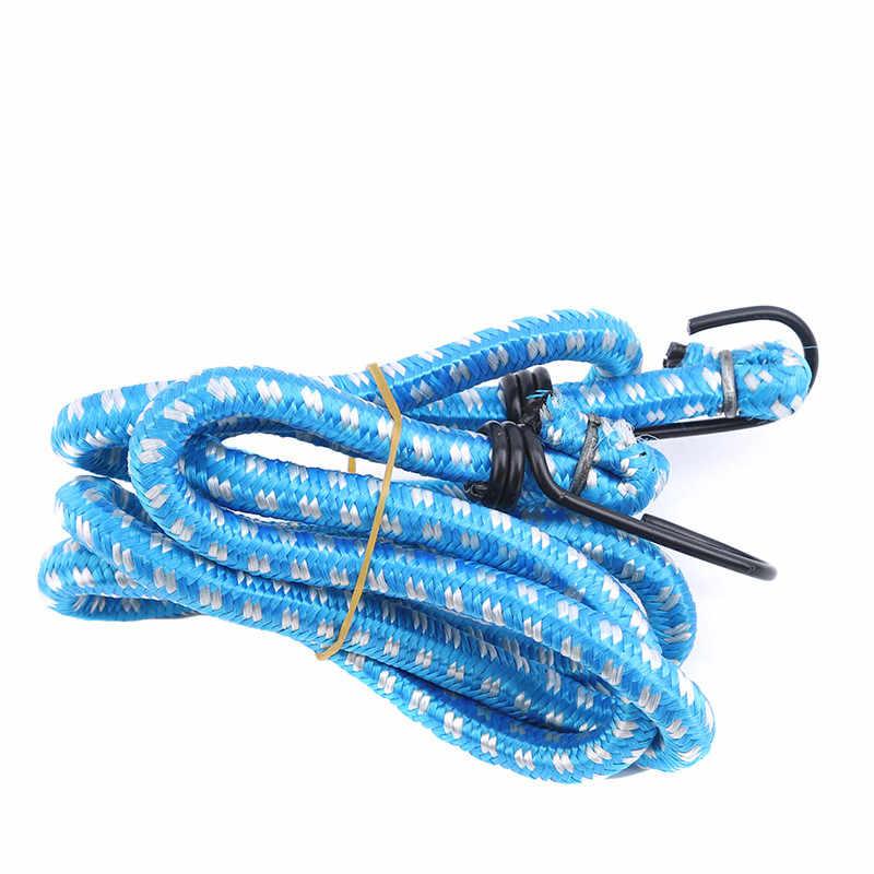 Elastic Bungee Cords Hooks Bikes Rope Tie Luggage Car Strap Roof Rack Fad SE