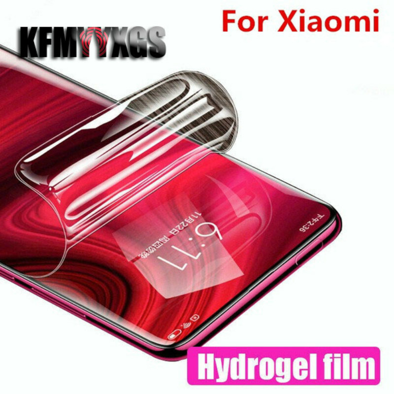 Full Hydrogel Film Screen Protector For Xiaomi Redmi 4 4X 5 5Plus 6 6A 6Pro Protective Soft Film For Redmi Note4X Note5A Note6
