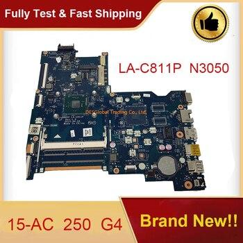 Для hp ProBook 15-AC 250 G4 Материнская плата ноутбука N3050 LA-C811P 817990-001 816433-001 817990-601 816433-601 материнская плата полностью проверена