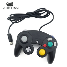 2016 Classic Wired Controller Joypad Joystick Gamepad For Nintendo For Gamecube Controller For Wii Vibration Gameing with tracking number wired game controller gamepad for n gc joystick with one button for gamecube for wii