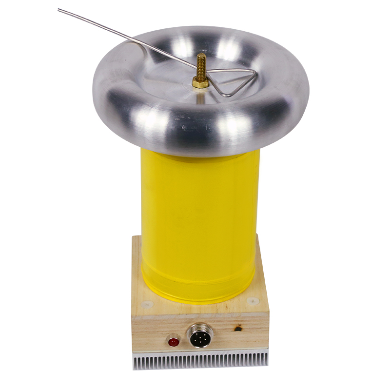 Bobine Tesla fini musique haute fréquence modèle générateur d'allumage kit de bricolage carte d'entraînement foudre - 4