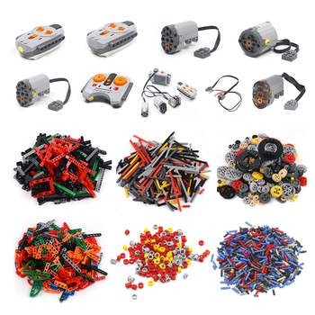 1000 Pieces DIY Building Blocks Bulk Sets City Creative Classic Technic Creator Bricks Assembly Brinquedos Kids Educational Toys