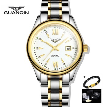 GUANQIN Gold Women Watches