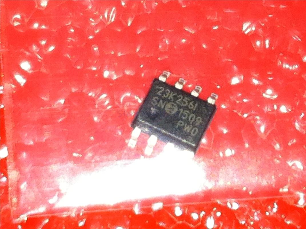 1pcs/lot 23K256-I/SN 23K2561 23K256I 23K256 SOP-8 In Stock
