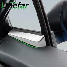 Car Interior Inner Door Window A Pillar Trim Sticker for Toyota C HR CHR C HR 2016 2017 2018 2019 2020 Accessories