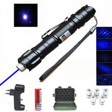 Зеленая мощная фиолетовая лазерная указка, указка 1000 нм, регулируемая красная лазерная указка м 5 мВт, ручка-указка для