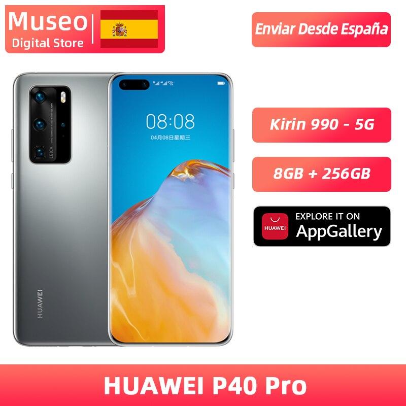 Globale version Huawei P40 Pro 8G 256G Kirin 990 5G Smartphone Kamera vierbett 50MP 6,58 ''screen Aufzurüsten 40W