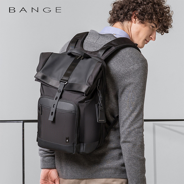 Bange Men Fashion Backpack Multifunctional Waterproof Backpack Daily Travel Bag Casual School Rucksack for Unisex 1
