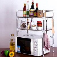 Manufacturers New Products Stainless Steel Kitchen Shelf Seasoning Shelf Storage Rack Use Organizing Rack Customizable Special O