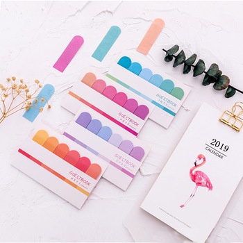 120 pagina's schattig kawaii memoblok sticky notes briefpapier sticker index gepost het planner stickers blocnotes kantoor- en schoolbenodigdheden