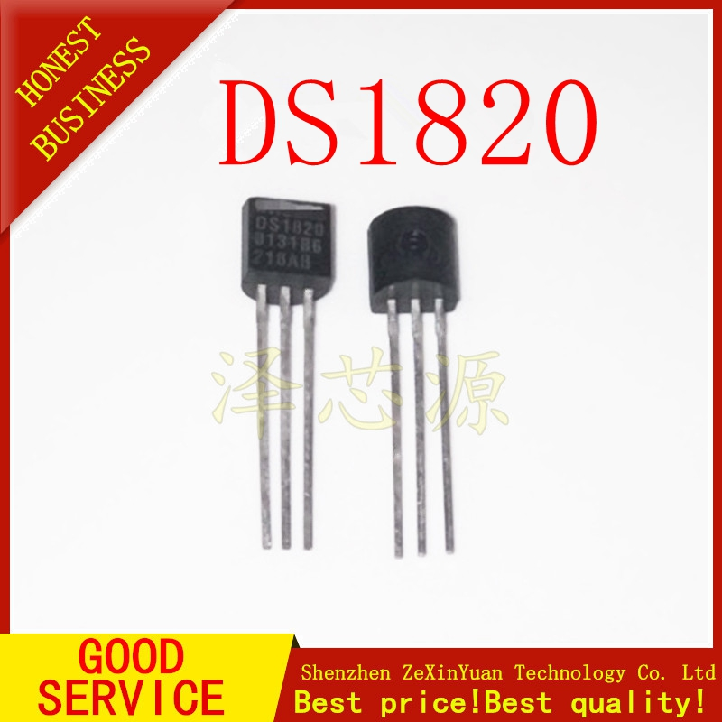 DS18S20 DS1820 1820 Wire Digital Thermometers