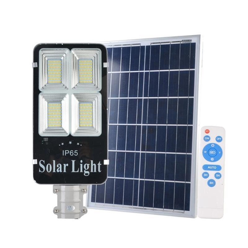 6PCS Tricolor Solar Street Light 200W Solar Lighting Outdoor Path Wall Emergency Lamp Solar Focus Floodlight Spotloght