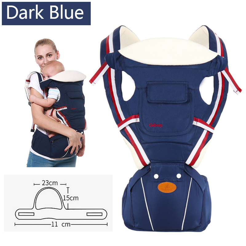 Multifunctional Baby Carrier Ergonomic Baby Sling Backpack 9 in 1 Newborn Infant Carrying Belt for 3-36 Months