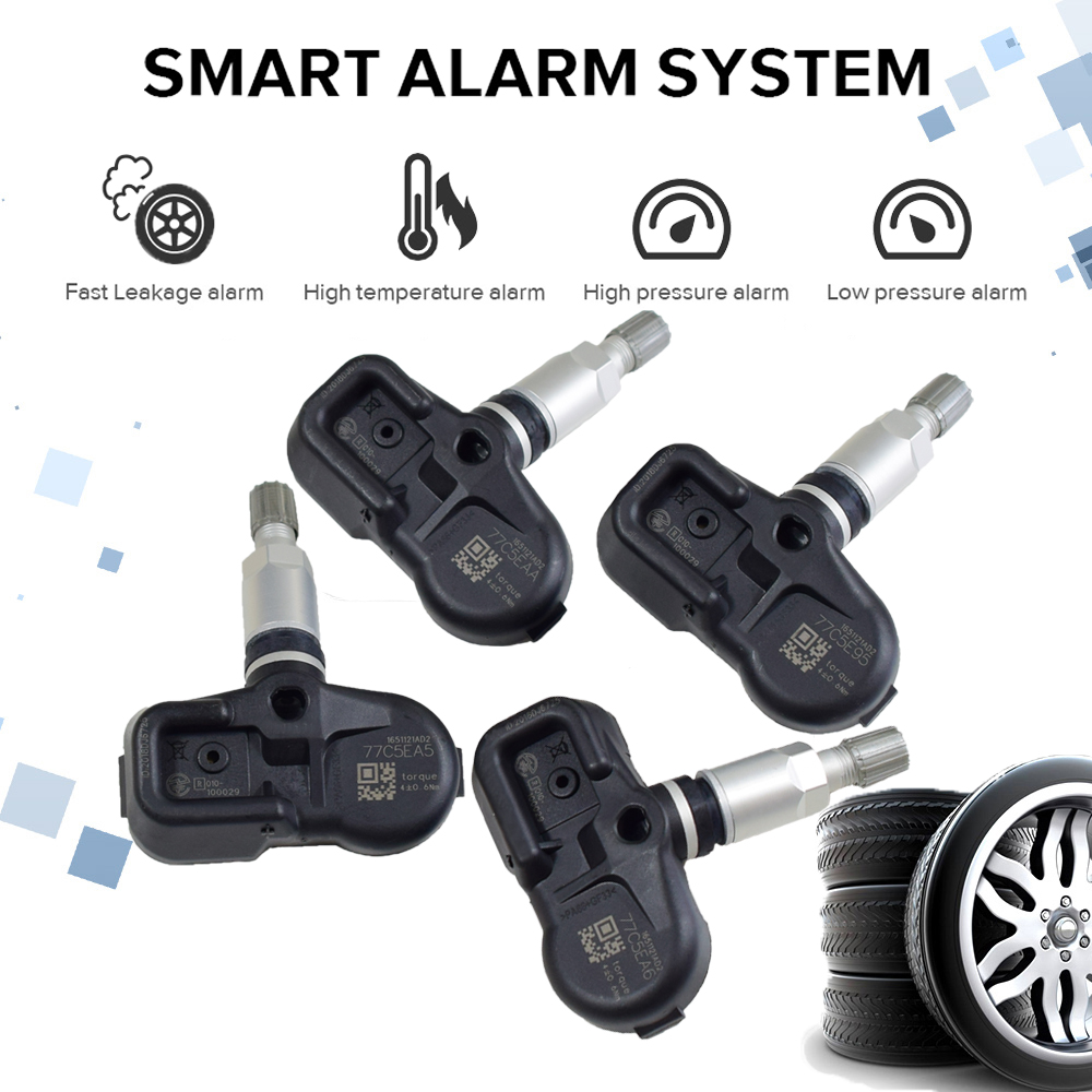 New TPMS Sensor Set Toyota Lexus Replacement 42607-33011 315 mhz