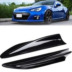 2 шт. глянцевые черные боковые крыло Fin вентиляционные отверстия для Subaru BRZ Toyota 86 GT86 Scion FR-S