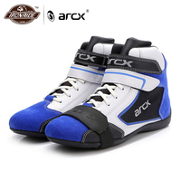 ARCX Motorcycle Boots Men Genuine Cow Leather Boots Breathable Cruiser Scooter Motorbike botas Moto Shoes Ankle Motorcycle Shoes