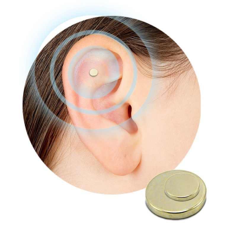2PCS Rauchen Aufzuhören Ohr Magnet Null Ohr Therapie Magnete Keine Chemikalien Massage Entspannung Menschliche Pflege Zerosmoke Gesunde