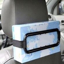 Towel-Box Tissue-Paper-Box-Holder Car-Sun-Visor Automobile Car-Organizer Black Frame