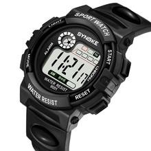 SYNOKE Multi-Function 30M Waterproof Watch LED Digital Doubl