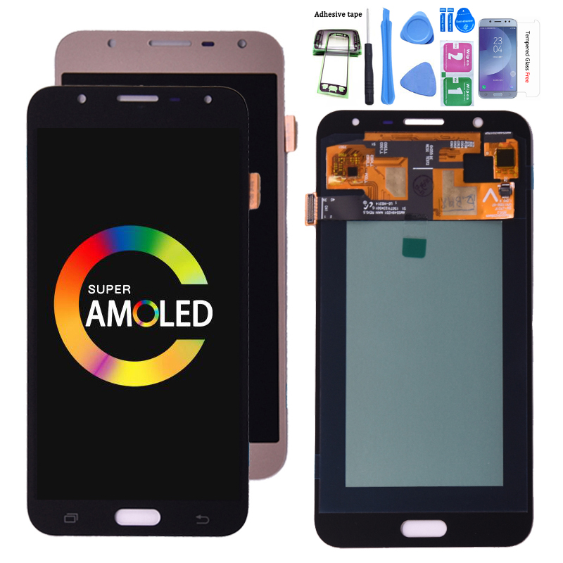 Original Amoled  For Samsung Galaxy J7 Nxt J701F J701M Lcd Display Screen Touch Digitizer Assembly For J701 J7 Neo J7 Core Lcd