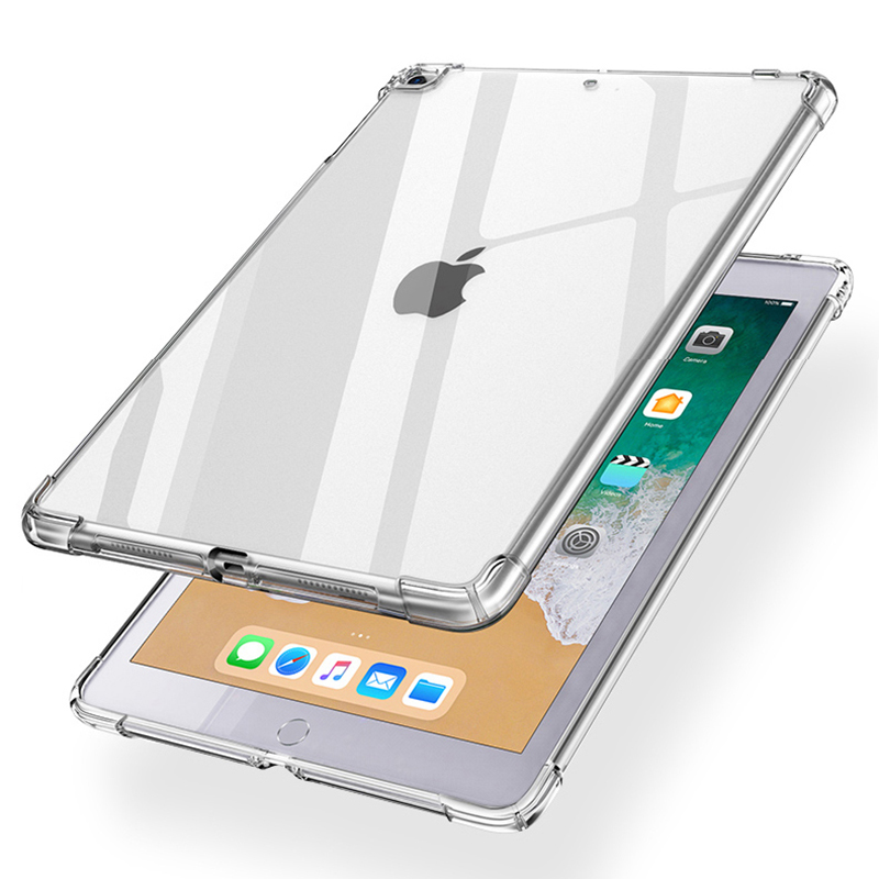 Air For Case TPU Back Case Tablet 2020 iPad 10.9 Silicon Soft Cover Transparent Clear