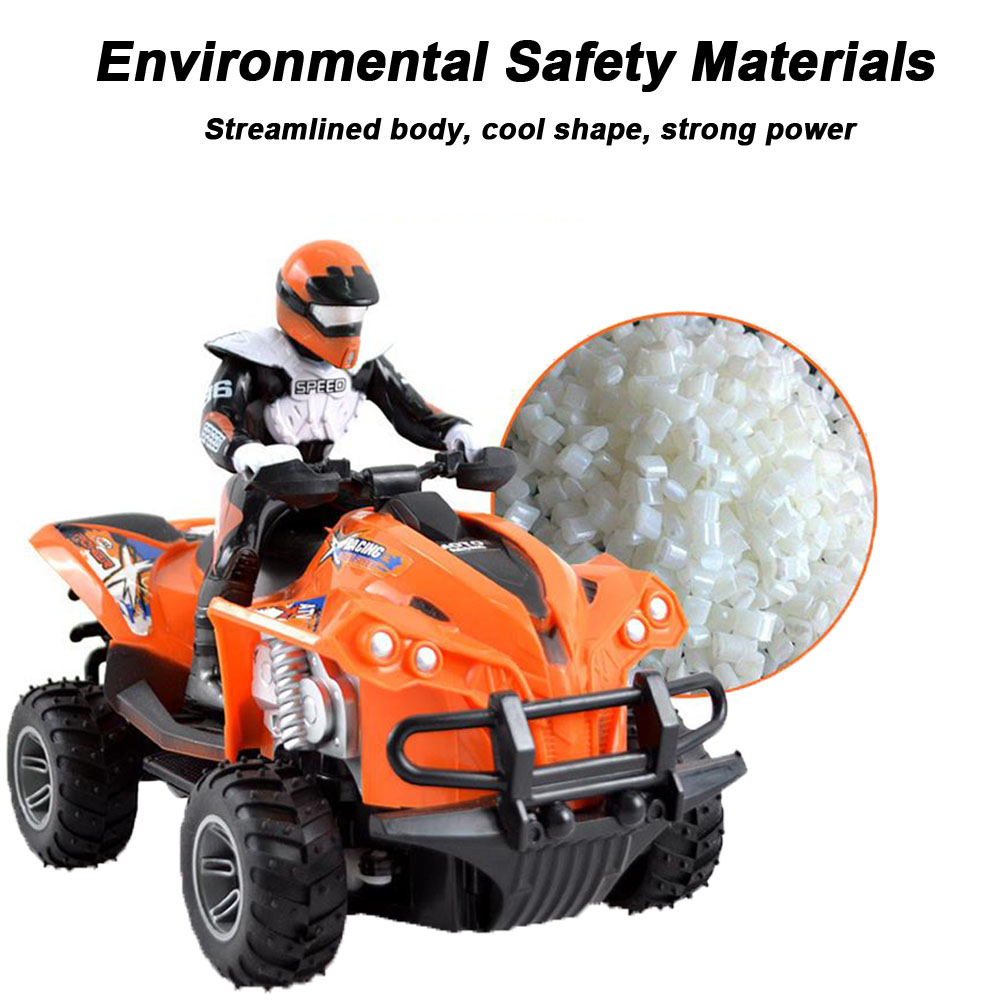 High Speed Anti Collision Children Quad Bike Wear Resistant Simulated Driving <font><b>RC</b></font> <font><b>Motorcycle</b></font> Rechargeable Gift Model Electric Toy image
