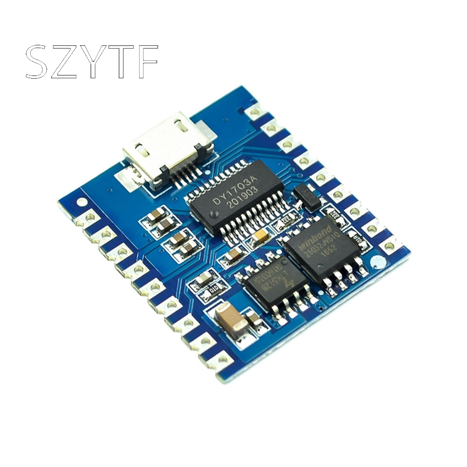 MP3 Player Module Voice Module 4MB Voice Playback IO Trigger Serial Port Control USB Download FLash DY-SV17F