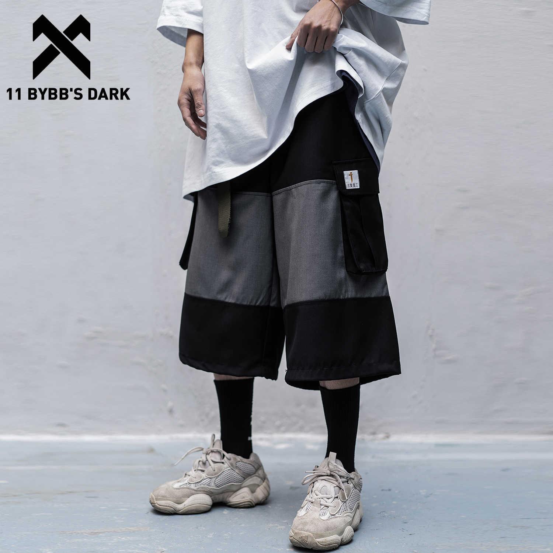 Poches Hip Hop Harajuku Capri Pantalon streetwear Pantalon
