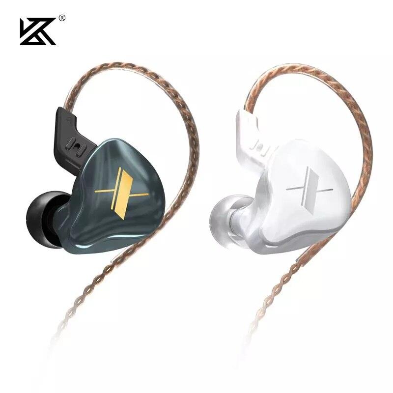 KZ EDX 1DD HIFI In Ear Earphone Monitor Headphones In Ear Earbuds Sport Noise Reduction Headset KZ ZSX ZAX ZS10 PRO ZSN PRO ZSN 1