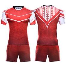 Новая сублимационная форма для регби шорты оптом Джерси детей