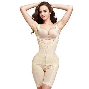 Image 3 - Slimming Underwear Waist Trainer Shapewear bodysuit Women Lingerie Body Shaper Corrective Underwear Magnet Loss Weight  corset