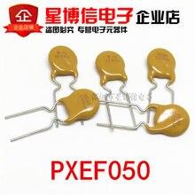 Frete grátis 20 pçs pptc polyswitch resettable fusível proteção rxef050 xf050 72v 0.5a 500ma