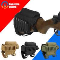 Gun Bandelier mit Regen Abdeckung Mag magazin molle ga cartridge gürtel tactical pouch reload suppressor baton ammo box 7 gauge
