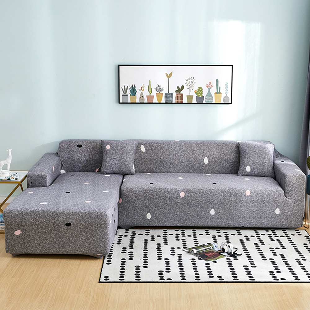 Big Discount Fe9f Stretch Slipcovers Sectional Elastic Stretch