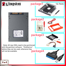 Kingston SSD HDD Disco Laptop 240 Gb Duro with Caddy/optibay-Or-Adapter for PC 3-Hdd