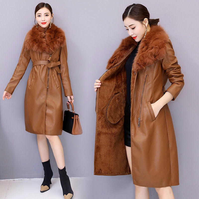Vangull Women's Leather Jacket for Women Women Women's Clothings Women's Coat/Jacket Women's Sweaters/Coat