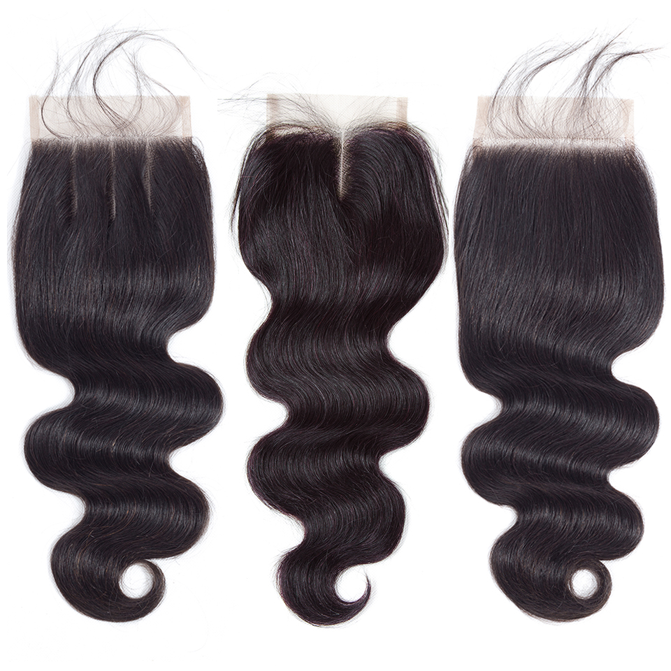 H472d7c7c44794e58a3bac4b5acde6a680 QueenLike Hair Products Brazilian Body Wave With Closure Non Remy Hair Weft Weaving 3 4 Bundles Human Hair Bundles With Closure