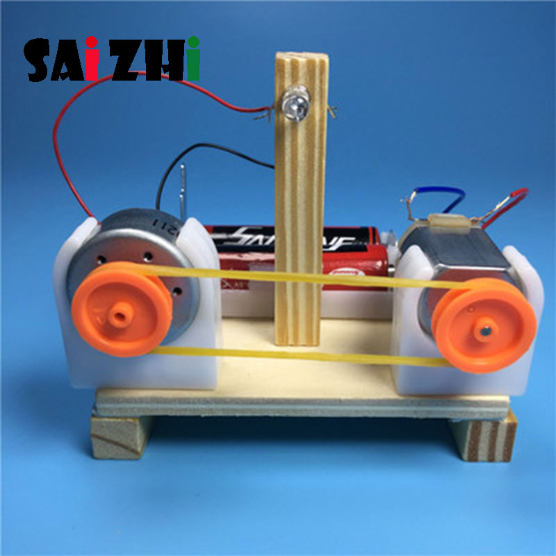 Saizhi Model Toy Diy Energy Conversion Demonstrator Developing Intelligent STEM Toy Science Electric Toy Birthday Gift