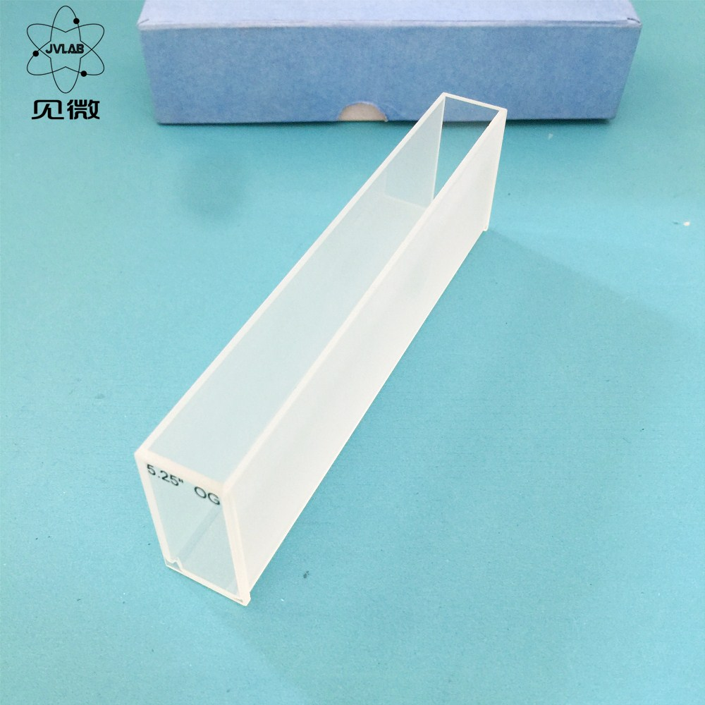Quartz Lovibond Cuvette ( Liquid Sample Cell ) 5.25'' OG Light Path 133.35mm Absorption Cells For Comparative Chromometer