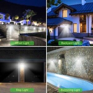 Image 5 - 모션 센서와 함께 LED 야간 조명 야간 조명 태양 전지 전원 램프 정원 장식에 대 한 방수 벽 빛