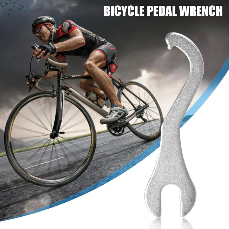 Outdoor Wrench Practical Mountain Bike Bottom Bracket Remover Pedal Wrench BB Tail Hook Spanner Bicycle Repair Tool Accessories