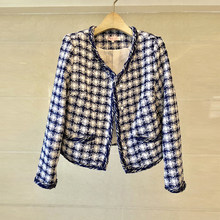 Suits For Women Runway Designers Elegant Office Ladies Formal Wear Plaid Blazer Jacket Coat Mini Dress 2 Piece Set Uniform(China)