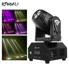 Projecteur de lumière à tête mobile 10W RGBW, contrôleur DMX pour DJ Disco fête de noël, éclairage de scène, effet stroboscope