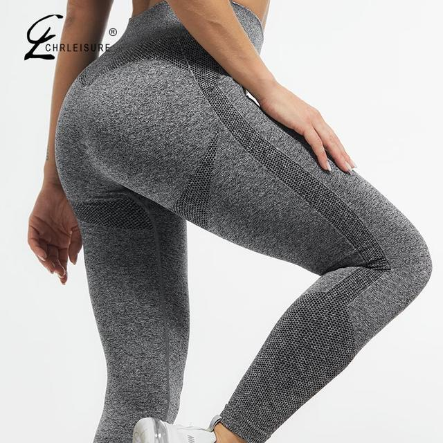 Pure Color Workout Bodycon Legging Women High Waist Thin Workout Jogging Leggings for Woman Skinny Stretchy Put Hip Leggins
