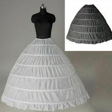 Wedding Petticoat 6 Hoops Crinoline Slip Underskirt Bridal Hoop Slips 2023