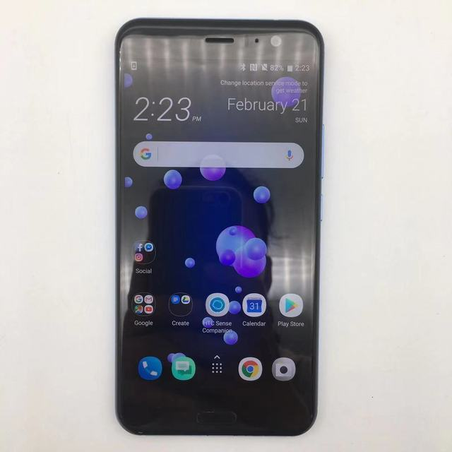 "HTC U11 Refurbished- Original 5.5"" inch 4GB RAM 64GB 128GB Dual sim ROM Octa Core 4G LTE Android  unlocked 12MP cellphone 2"