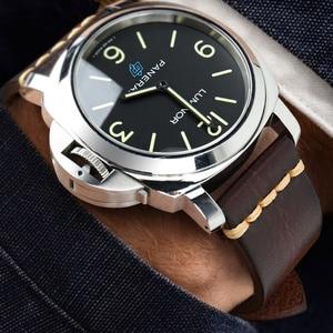 Image 5 - Maikes אמיתי רצועת השעון עור לגלקסי שעון רצועת 18mm 20mm 22mm 24mm להקת שעון Tissote טיימקס אומגה יד צמידים